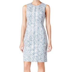Calvin Klein Womens Animal Print Casual Dress